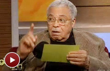 Baby! Driving Miss Daisy  Star James Earl Jones Channels Justin Bieber