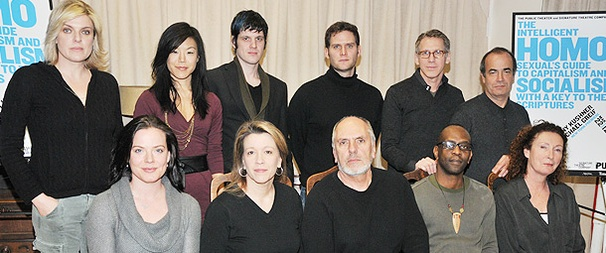 Tony Kushner & the Cast of His Intelligent Homosexual's Guide Meet the Press