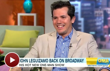 Ghetto Klown's John Leguizamo Spills Star Secrets on GMA, Including His Shootout with Al Pacino
