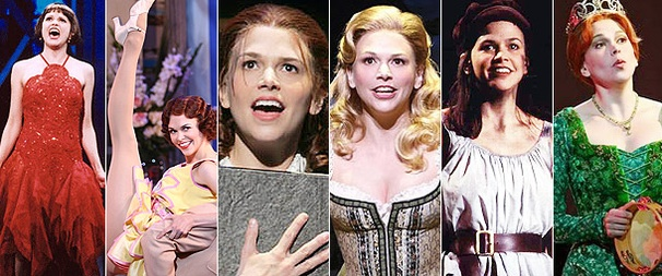 Sutton Foster on broadway