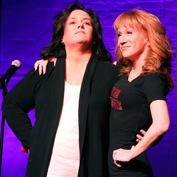 Rosie O'Donnell Cheers On Comedian Kathy Griffin's Tony Campaign