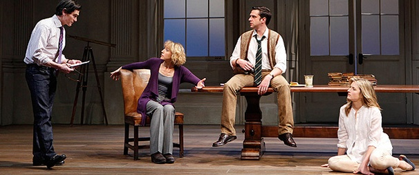 First Look: Raul Esparza and More Tackle Tom Stoppard's Arcadia 