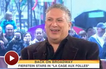 La Cage's Harvey Fierstein Butters Up Paula Deen on Today