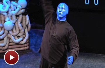 See How the Funky Blue Man Group Keeps Things Fresh