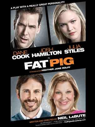 Neil LaBute's Fat Pig, Starring Dane Cook, Cancels Spring Broadway Run