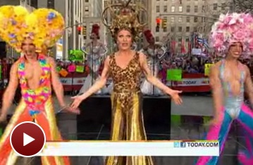 Bette Midler and the Dancing Queens of Priscilla 'Survive' an Early Morning on Today