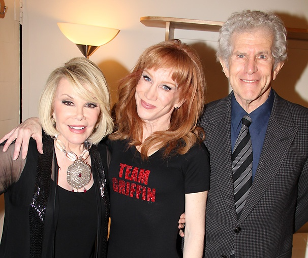 Exclusive! Thanks to Joan Rivers, Kathy Griffin Gets Her Tony...Kind Of