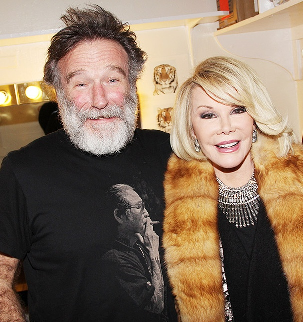 Let the Fur Fly! Joan Rivers Visits Robin Williams at Bengal Tiger