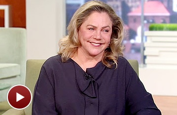 High Star Kathleen Turner Talks Stunts and Nudity on Good Morning America