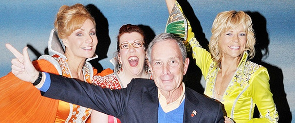 Mamma Mayor! NYC Mayor Bloomberg Has an ABBA-riffic Evening at Mamma Mia!