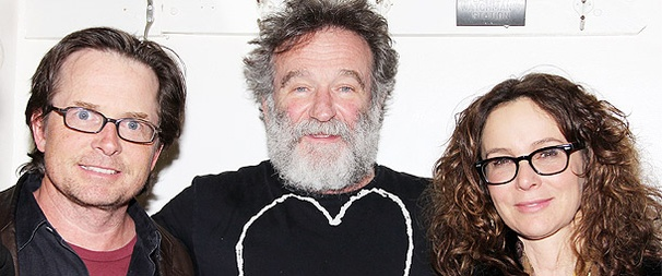 It's A Starry Weekend at Bengal Tiger as Robin Williams Welcomes Michael J. Fox, Ben Vereen, Jennifer Grey and More
