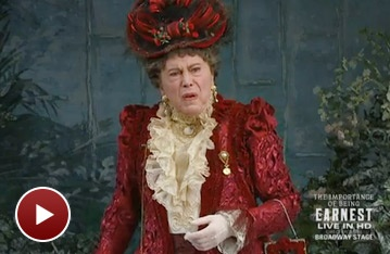 Sneak a Peek at The Importance of Being Earnest, Filmed Live in HD