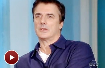 That Championship Season Charmer Chris Noth Bares All on The View