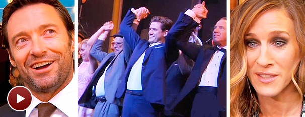 Flying High with the Stars and Starry Guests on Opening Night of Catch Me If You Can