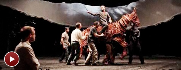 A Sneak Peek at War Horse's Intricate Projections and Animation Design