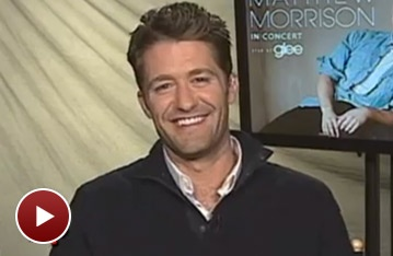 Glee Dreamboat Matthew Morrison Shares His Solo Album Inspiration 