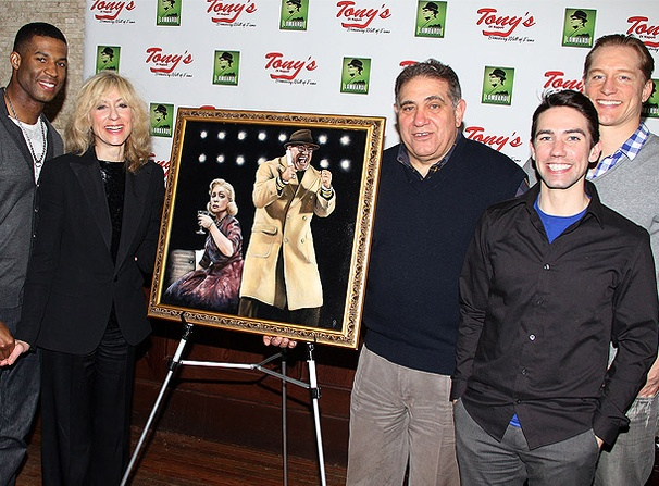 Lombardi's Dan Lauria and Judith Light Score a Broadway Wall of Fame Portrait