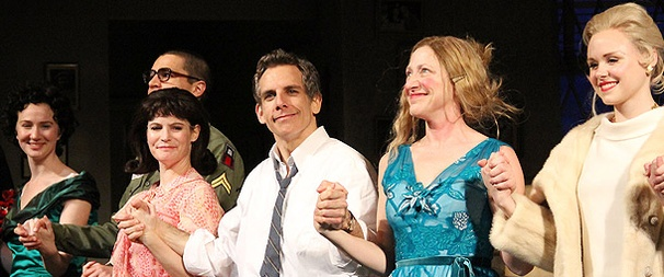 Rock The House! Ben Stiller, Edie Falco and the Blue Leaves Company Celebrate Opening Night