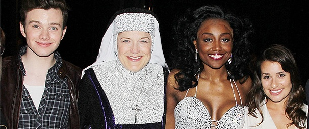 Lea Michele & Glee Castmates Have a Heavenly Time at Sister Act