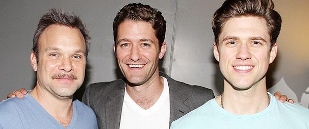 Exclusive Photos! Glee's Matthew Morrison Catches Up with Broadway Pals at Catch Me If You Can