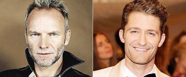 Glee's Matthew Morrison Adds Duet with Sting to Starry CD Lineup