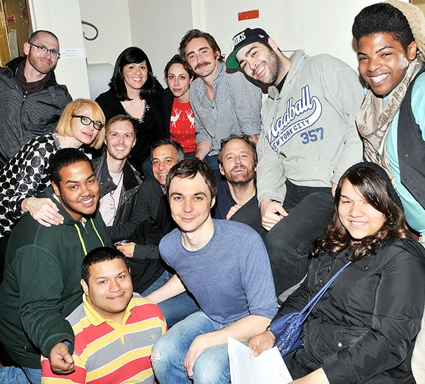 Ellen Barkin, Joe Mantello & Co. Pose For a Heartwarming Hot Shot Backstage at The Normal Heart