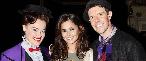 British Pop Star Cheryl Cole Visits Mary Poppins