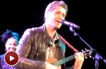 Glee's Matthew Morrison Goes 'Over the Rainbow' for VH1 Save The Music