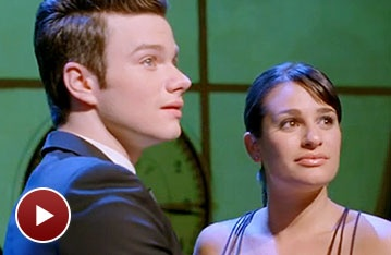 Wicked Great! Watch Glees Lea Michele and Chris Colfer Change 'For Good'