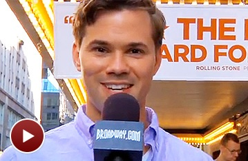 Hello! Tony Nominee Andrew Rannells Reveals the Backstage Magic at The Book of Mormon