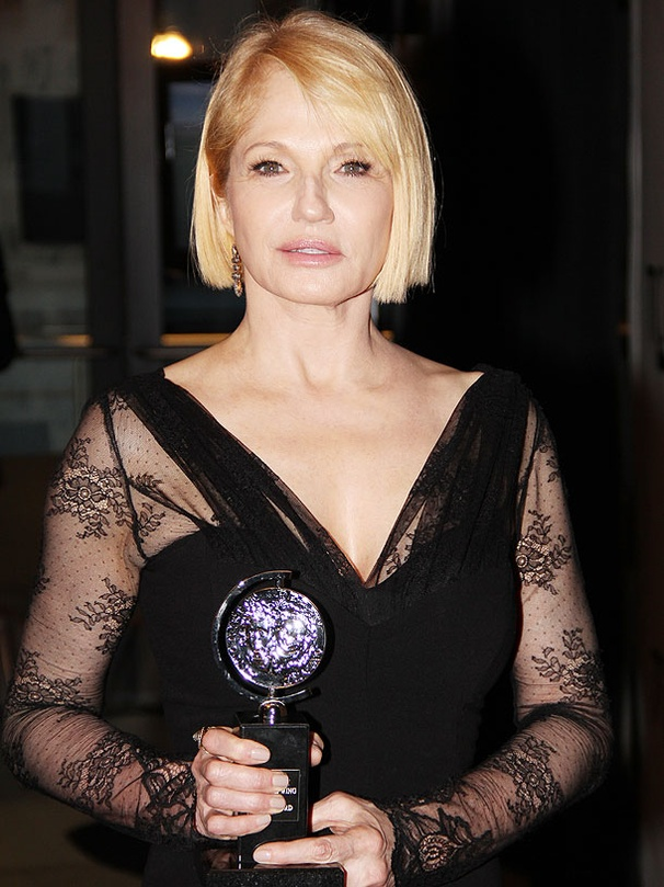 'Grateful and Humbled' Ellen Barkin Wins Best Featured Actress Tony for The Normal Heart