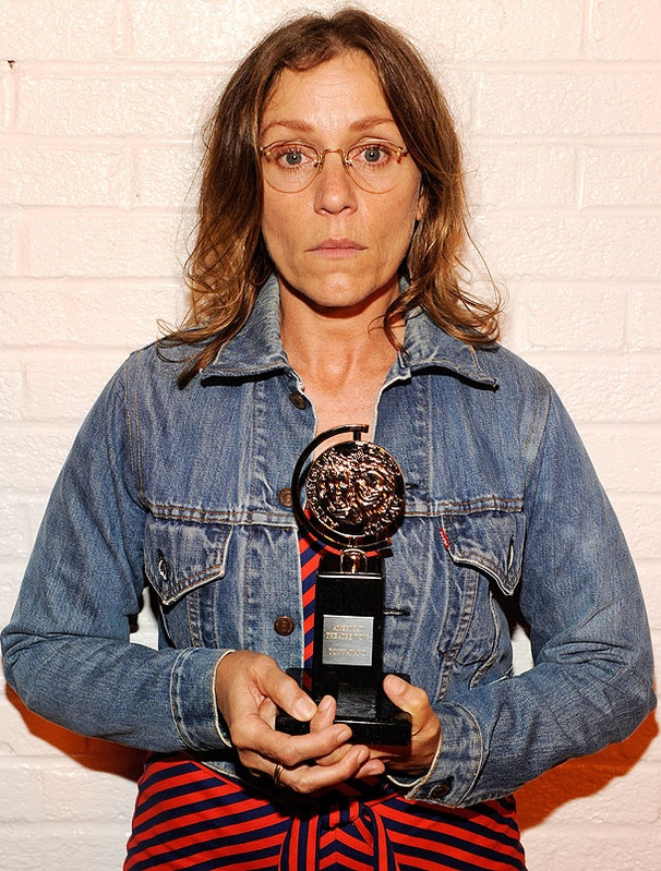 'I Love My Job,' Declares Dressed-Down Best Actress Winner Frances McDormand