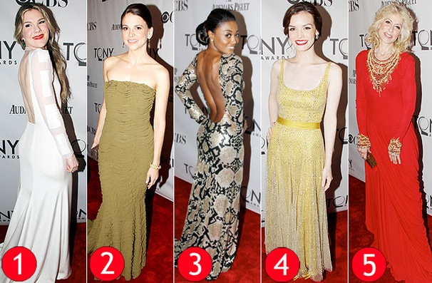 Broadway's Bold and Beautiful: Our Top Five Tony Fashion Favorites