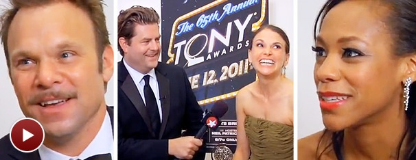Congrats! Backstage Video Chats with Tony Winners Sutton Foster, Norbert Leo Butz & Nikki M. James