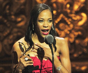 You Really Like Her! Beautiful 'Bumblebee' Nikki M. James Named Best Tony Speechmaker