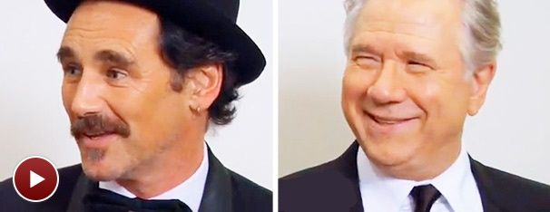 Final Tony Vids! Mark Rylance on His Poetic Podium Moment & John Larroquette on His Shiny New Dressing Room Fan