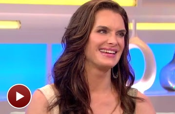  Brooke Shields Talks Becoming a Member of The Addams Family on Good Morning America