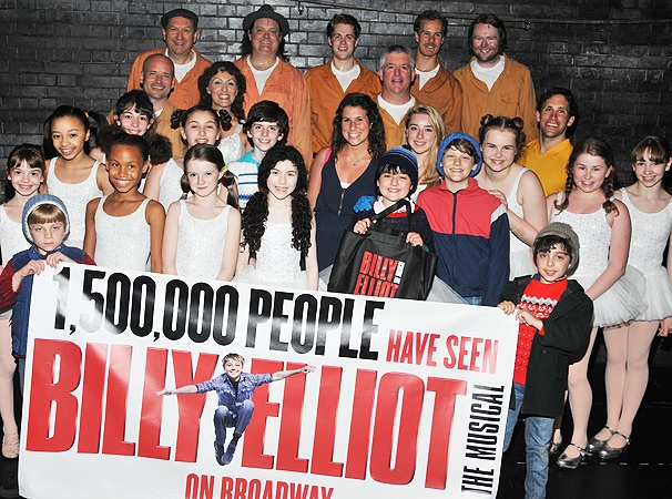Surprise! Billy Elliot Welcomes 1.5 Millionth Audience Member to Broadway 