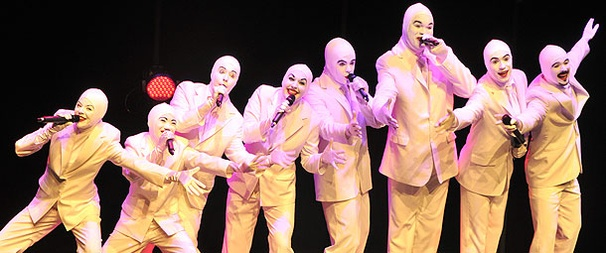 Alien Singing Group The Voca People Beam Into Off-Broadway's Westside Theatre