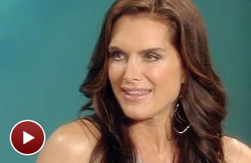 On The View, Brooke Shields Reveals Her Daughter's Advice On How to Go Goth in The Addams Family