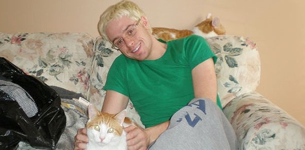 Rock of Ages Cody Scott Lancaster Shares His Cheesy Cats' Snacking Habits