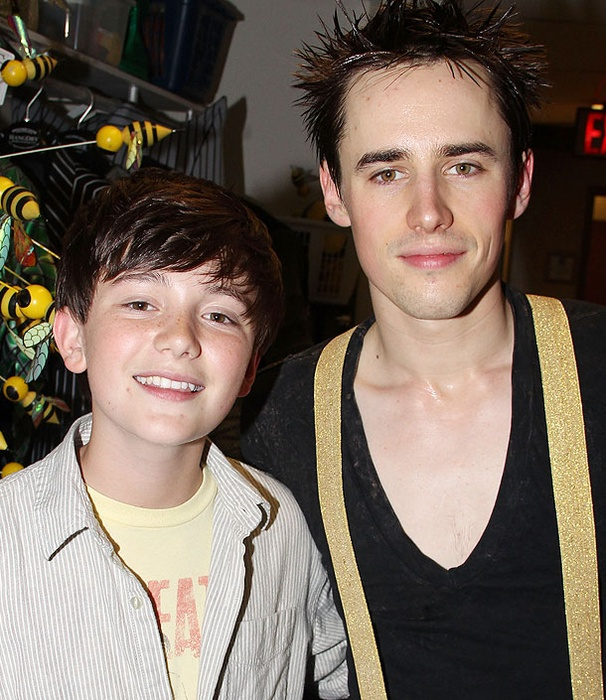 YouTube Sensation and Ellen DeGeneres Protege Greyson Chance Meets Rocker Reeve Carney at Spider-Man