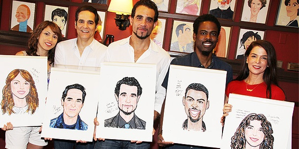 Sardi's Tips Its Hat to Chris Rock, Bobby Cannavale and the Cast of Motherf**ker
