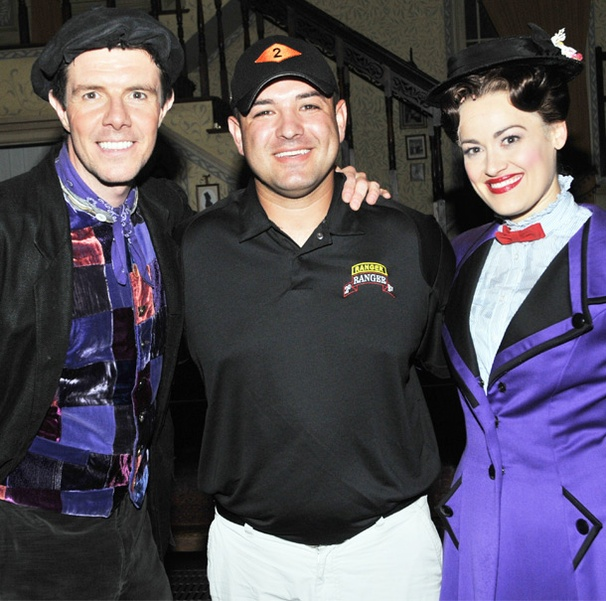 Medal of Honor Recipient Leroy Petry Experiences the Magic of Mary Poppins