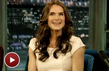 The Addams Family's Brooke Shields Chats With Jimmy Fallon About the Comedic Antics of Co-Star Jackie Hoffman