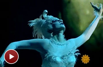 Go Behind-the-Cirque-Scenes of Zarkana on CBS Sunday Morning 