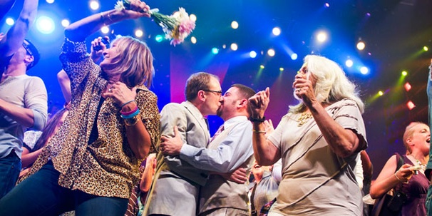 Share the Joy as Same-Sex Couples Wed Onstage at the St. James Theatre 