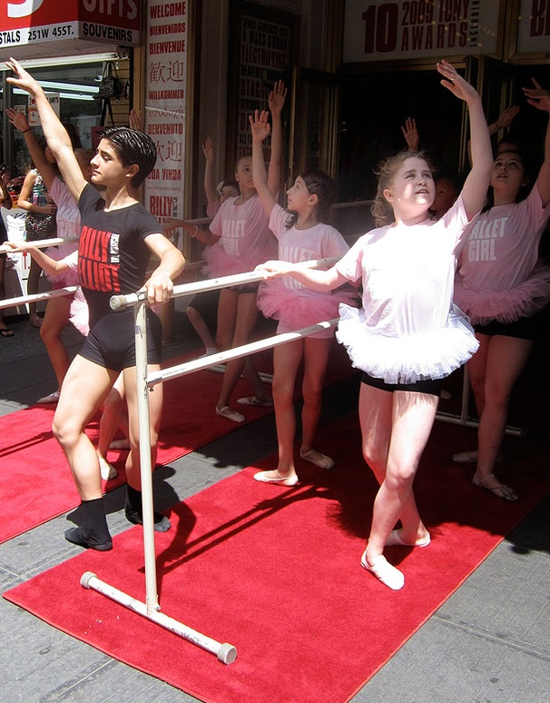 Billy Elliots Ballet Girls Raise the Barre on National Dance Day
