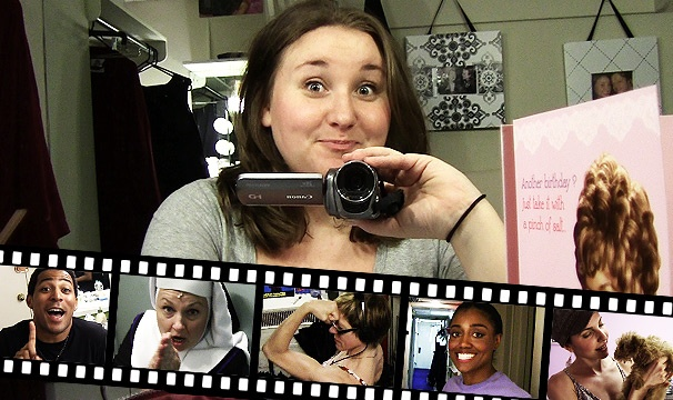 Sister Lives: Backstage at 'Sister Act' with Sarah Bolt #1: Series Premiere, Starring Patina Miller's Puppy!