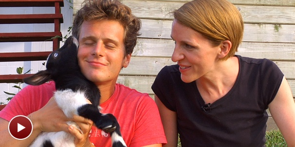 What Does Lea Michele's Mouth Taste Like? Jonathan Groff Dishes at His Goat Farm on Side By Side By Susan Blackwell